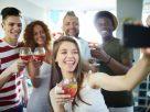Selfie of party